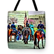 Constitution Hall Calvary Tote Bag