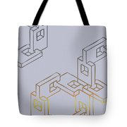 Construct Number Four Tote Bag