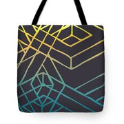 Construct Number Three Tote Bag