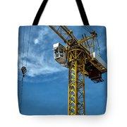 Construction Crane Asia Tote Bag