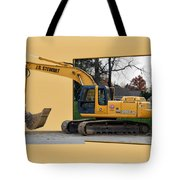 Construction Equipment 01 Tote Bag