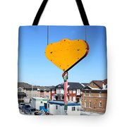 Construction Equipment Tote Bag