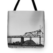 Construction Of The Eastern Span San Francisco Oakland Bay Bridge June 29 1930 Tote Bag