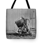 Construction - Vintage Cement Mixer Tote Bag