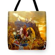 Constructors Of Time Tote Bag by Henryk Gorecki