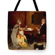 Consulting Her Lawyer Tote Bag