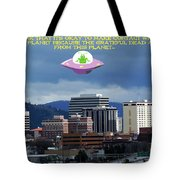 Contact With A Dead Planet 2 Tote Bag