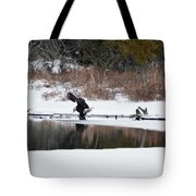 Contact With The Earth 2 Tote Bag