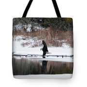 Contact With The Earth Tote Bag