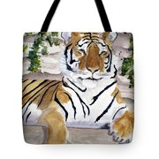 Contemplating Dinner Tote Bag