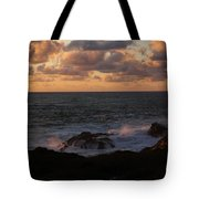 Contemplating In Paradise Tote Bag