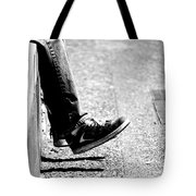 Contemplating Steps Tote Bag