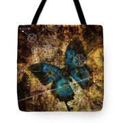 Contemplating The Butterfly Effect  Tote Bag