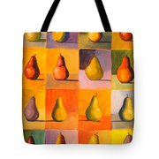 Contemplating The Pear Tote Bag