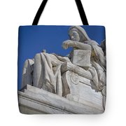 Contemplation Of Justice 1 Tote Bag