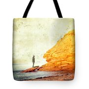 Contemplation Point Tote Bag