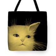 Contemplative Cat   No.3 Tote Bag