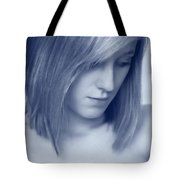 Contemplative Tote Bag by Amanda Elwell