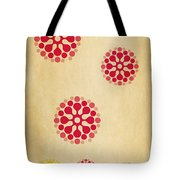 Contemporary Dandelions 1 Part 1 Of 3 Tote Bag