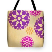 Contemporary Dandelions 2 Part 2 Of 3 Tote Bag