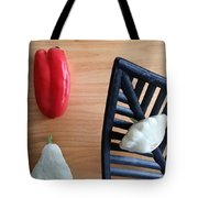 Contemporary Vegetables Tote Bag
