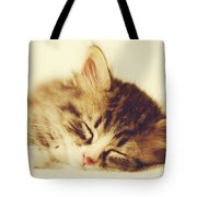 Content Kitty Tote Bag