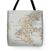 Continent Of Verme Tote Bag