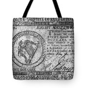 Continental Currency, 1777 Tote Bag