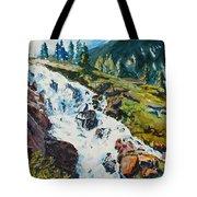 Continental Falls Tote Bag