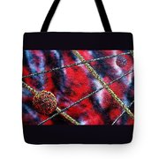 Continuum Iv Red Sky Tote Bag