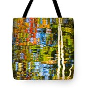 Contorted Clarity Tote Bag