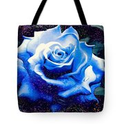 Contorted Rose Tote Bag