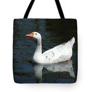 Contrasting Goose Tote Bag