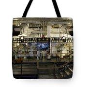 Control Board Engine Room Queen Mary Ocean Liner Long Beach Ca Tote Bag