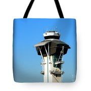Control Tower Tote Bag