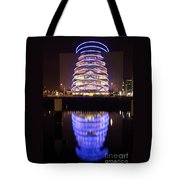 Convention Centre Dublin By Night Tote Bag