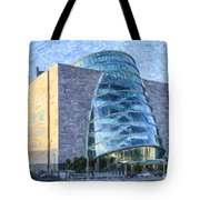 Convention Centre Dublin Republic Of Ireland Tote Bag