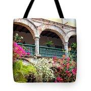 Convento De La Popa Cartagena Tote Bag