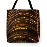 Converging Lines Tote Bag