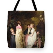 Conversation In A Park Tote Bag
