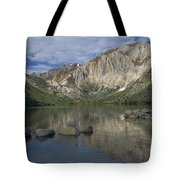Convict Lake Reflection Tote Bag
