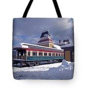 Conway Railroad Tote Bag