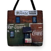 Conyers Advertisements Tote Bag