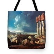 Cook: Easter Island, 1774 Tote Bag