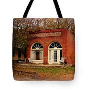 Cook Station Bank Tote Bag by Marty Koch