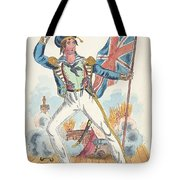Cooke As Newton Foster  Tote Bag