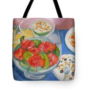 Cookies And Camellias Tote Bag