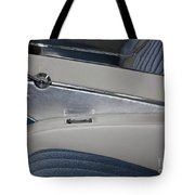 Cool Blue Abstract Tote Bag