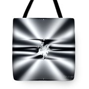Cool Clean Stainless . Fractal Tote Bag