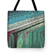 Cool Colors Abstraction Tote Bag